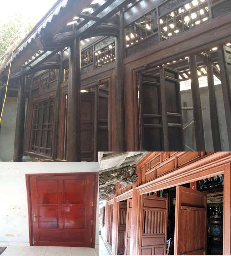 mua cửa gỗ cũ giá cao tại TPHCM