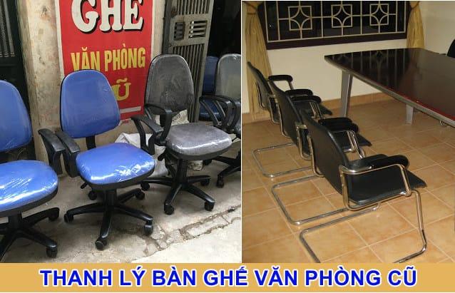 thanh lý bàn ghế văn phòng cũ tp hcm