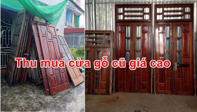 thu mua cửa gỗ cũ giá cao