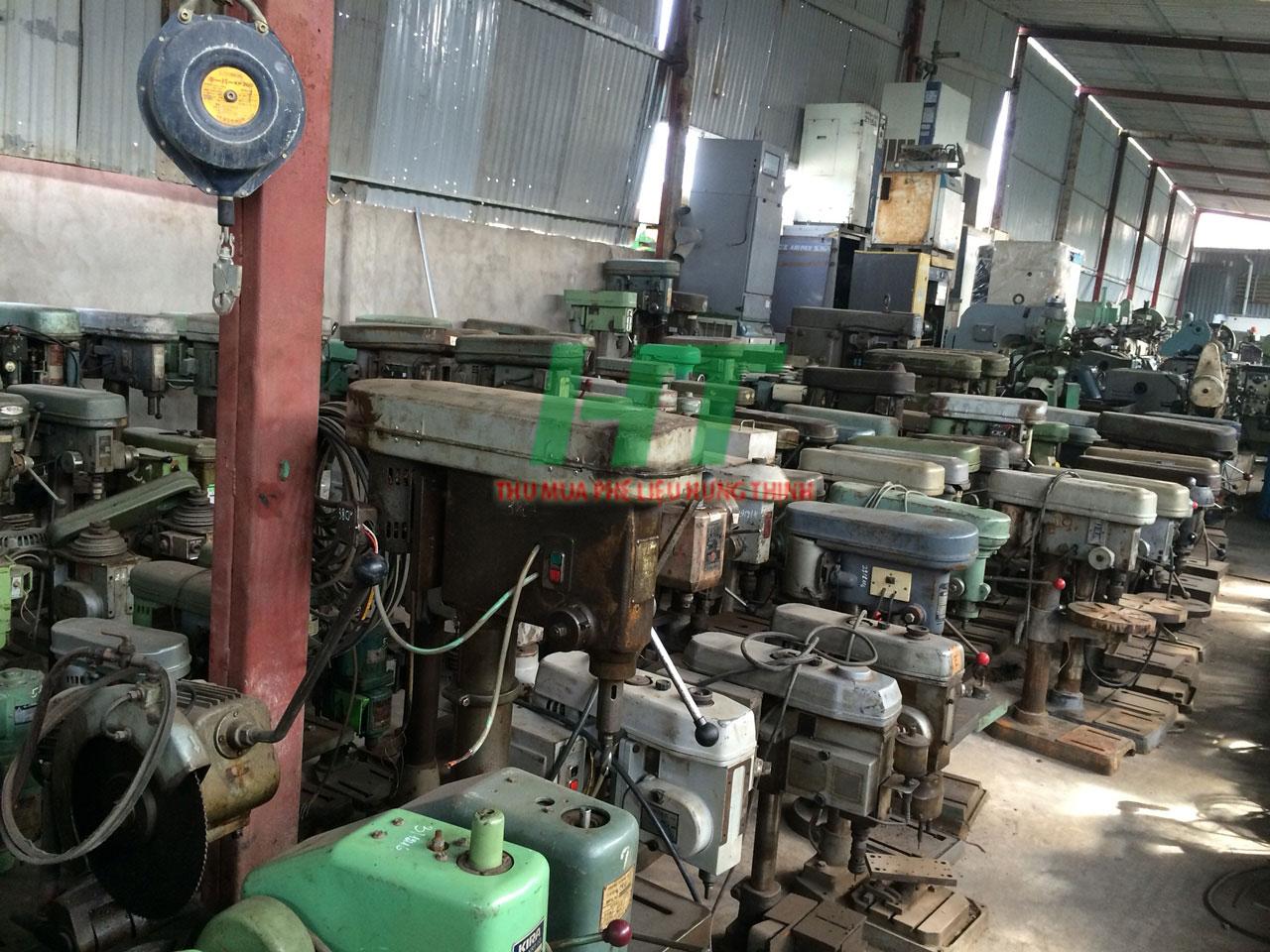 Thu mua máy cũ tại Long An giá cao