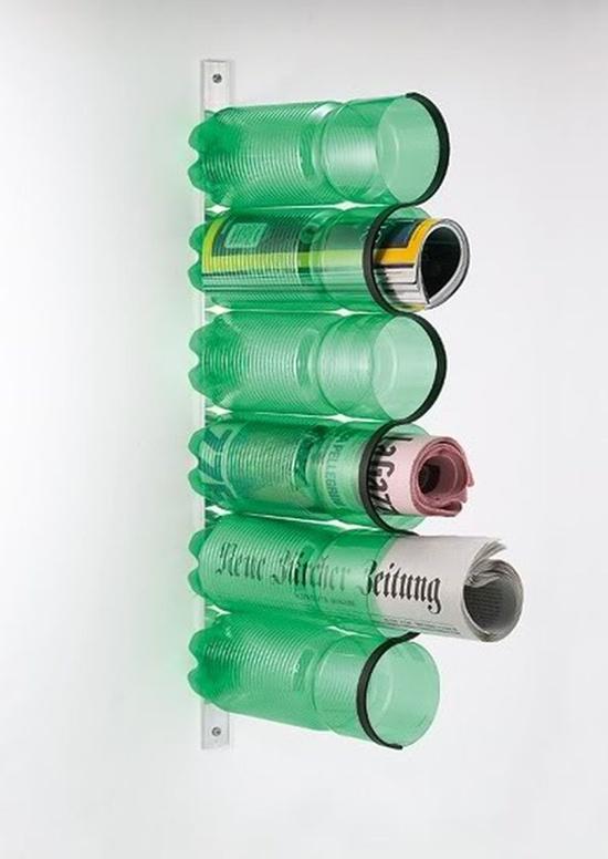 Đồ tái chế từ chai nước