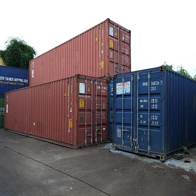 Mua bán container cũ giá sắt vụn, thu mua hàng thanh lý container giá cao nhất