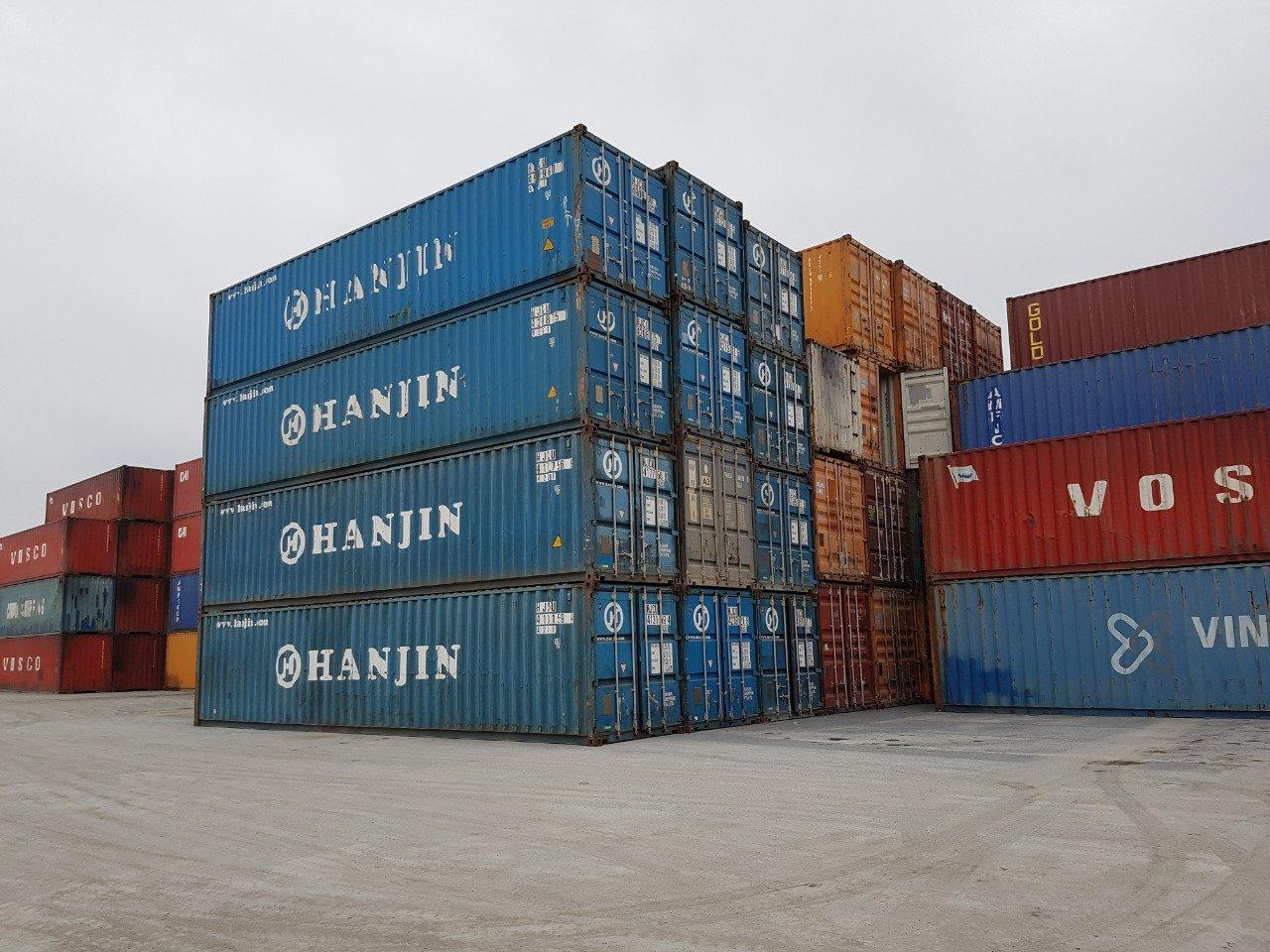 Mua bán và thanh lý container cũ giá cao tận nơi