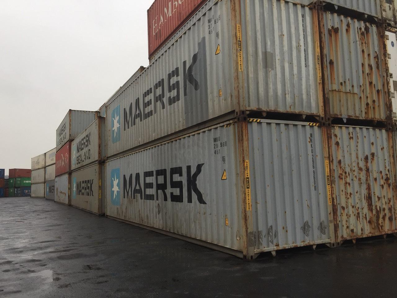 Container thu mua và thanh lý những loại nào?