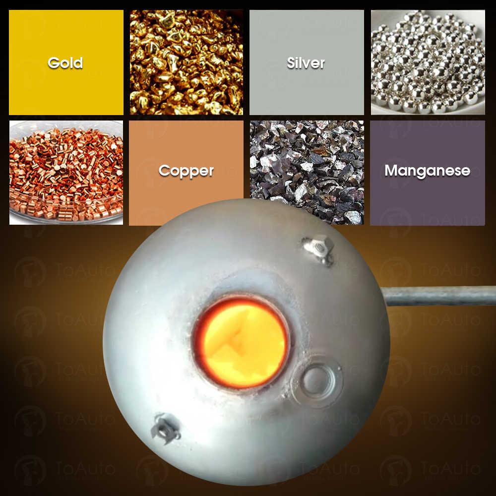 Nhiệt độ nóng chảy của vàng, bạc, nhôm, sắt… là bao nhiêu