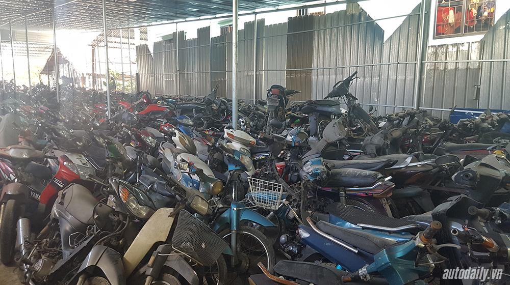 Thu mua xe máy cũ phế liệu giá cao tại TPHCM