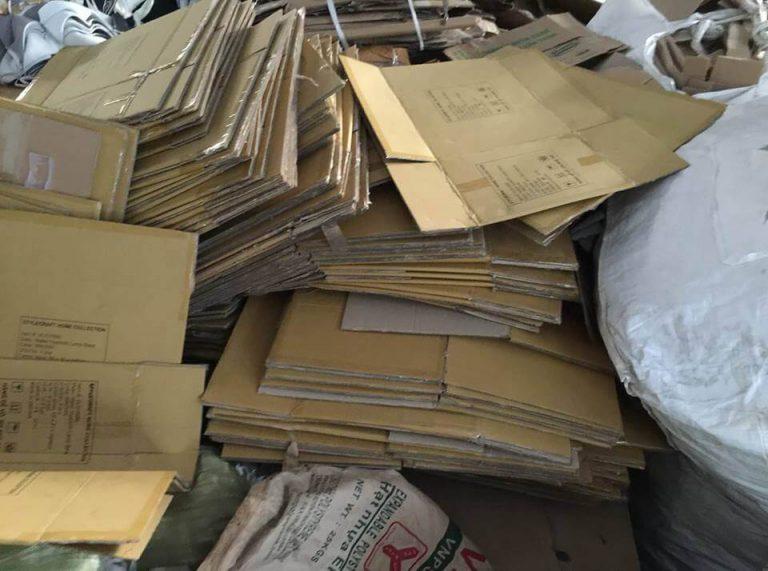 Giá phế liệu giấy Carton
