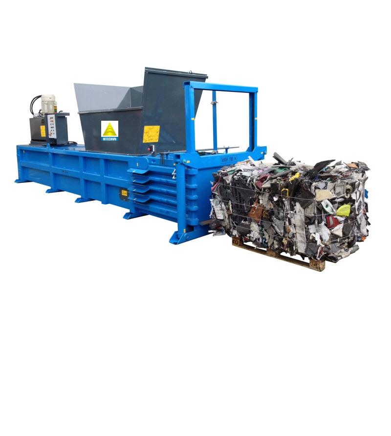 Các loại máy ép phế liệu hiện nay: Máy ép nilon, máy ép kiện, máy ép giấy