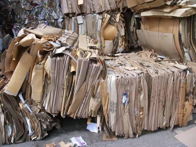 Hình ảnh phế liệu giấy