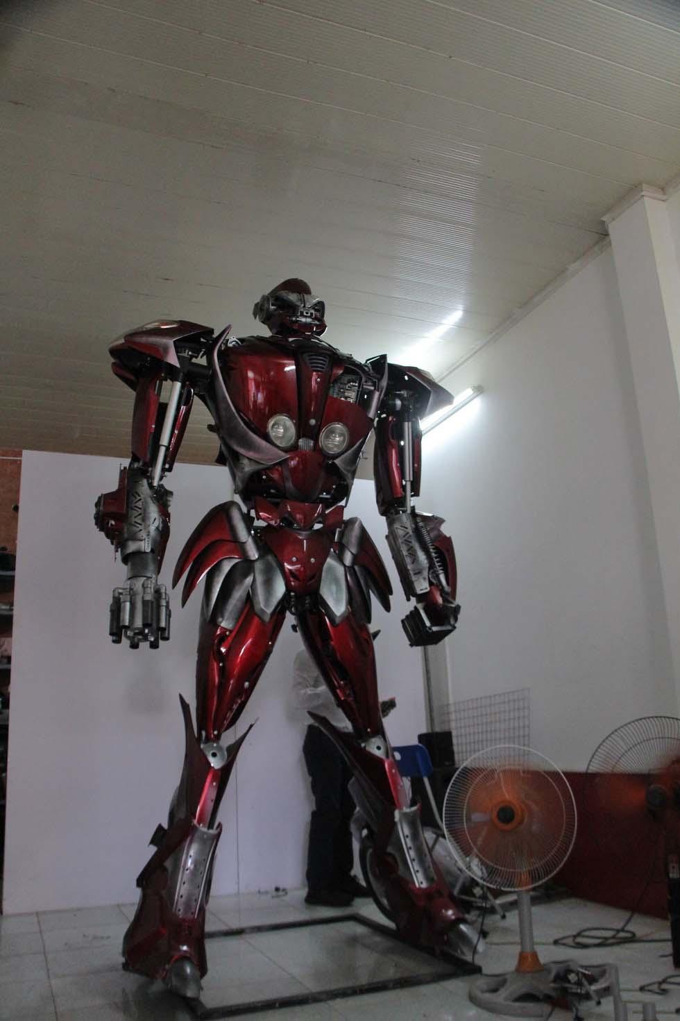 Hình ảnh phế liệu robot