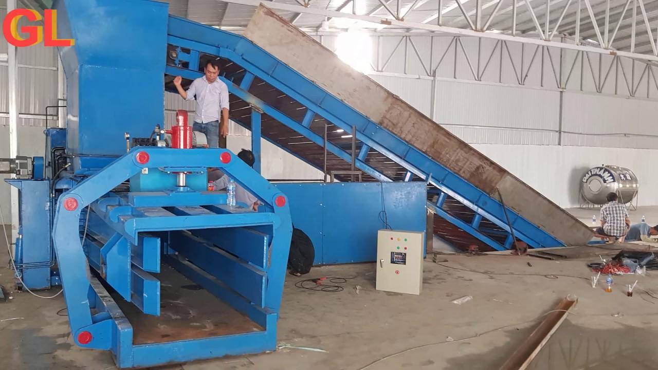 Đơn vị thu mua máy ép phế liệu máy ép kiện giá cao Hưng Thịnh
