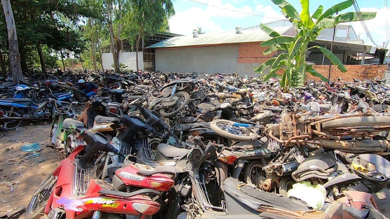 Những bãi xe máy phế liệu Hồ Chí Minh ở đâu?