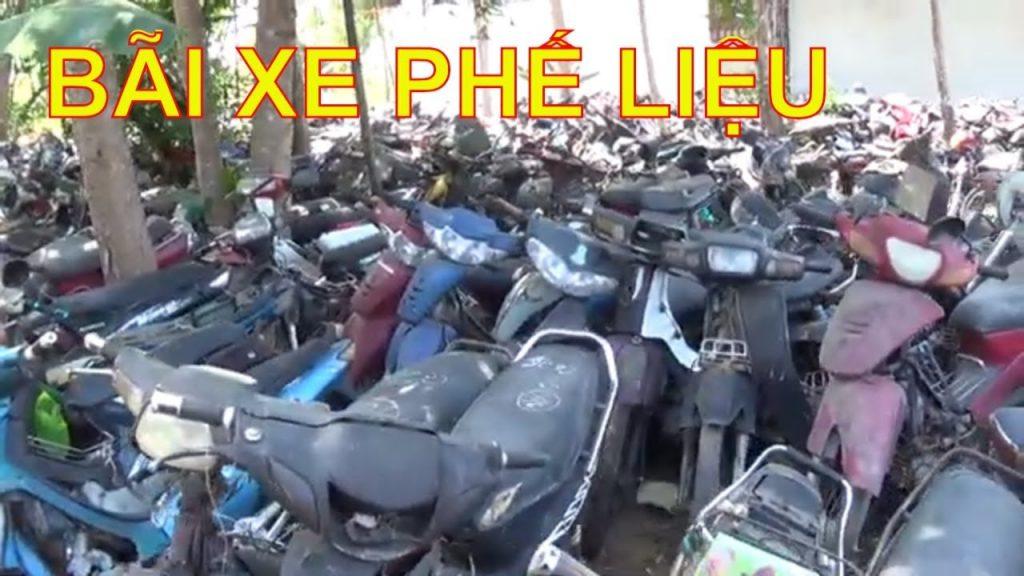 Bãi phế liệu xe máy tphcm