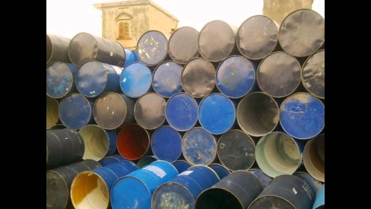 Quy trình thu mua thùng phi sắt phế liệu