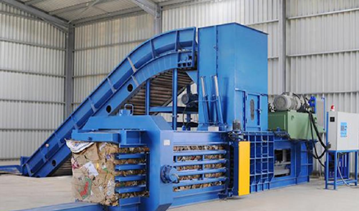 Thu mua máy ép phế liệu máy ép kiện với giá cao