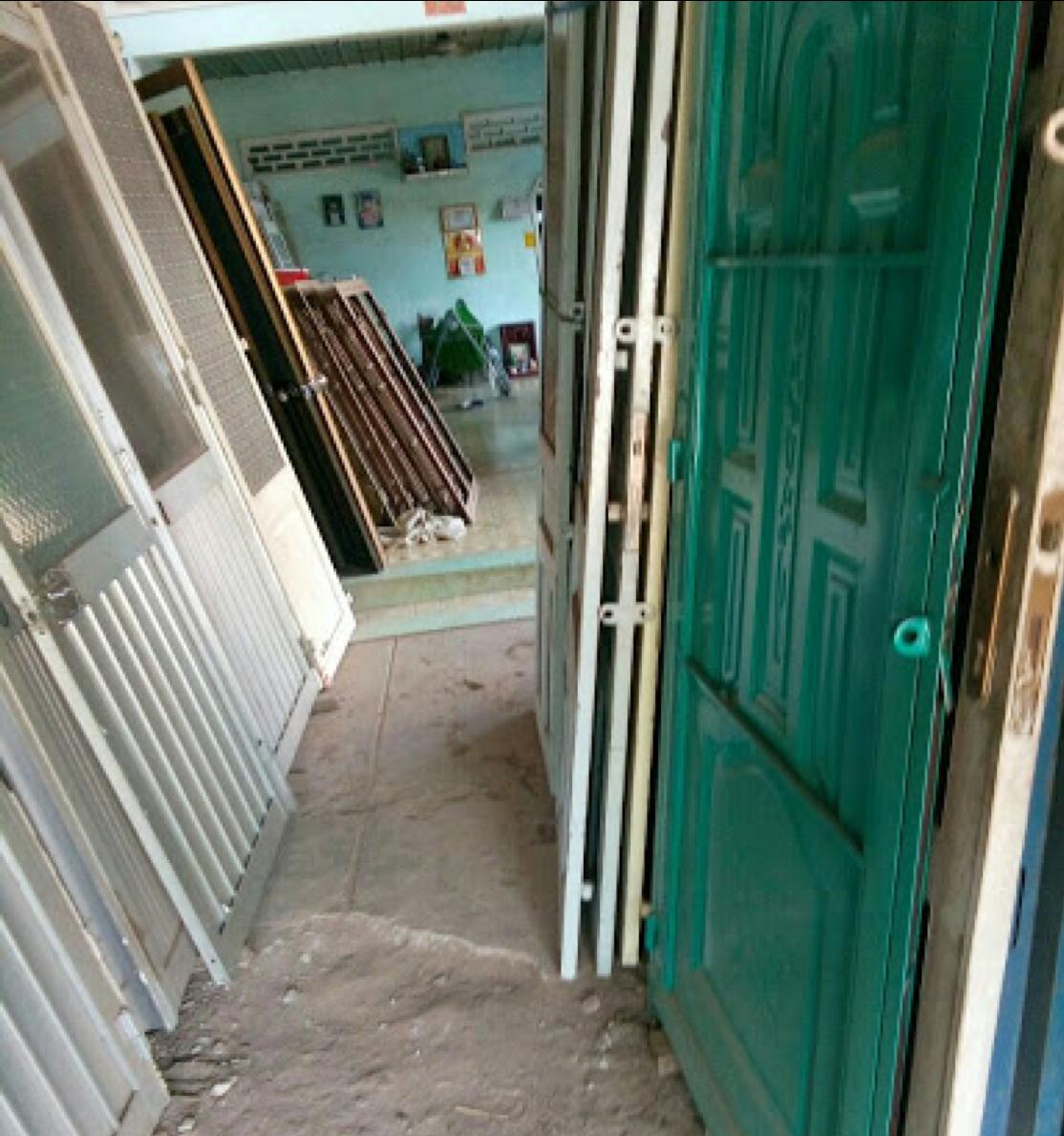 Các loại cửa sắt cũ mà Hưng Thịnh thu mua