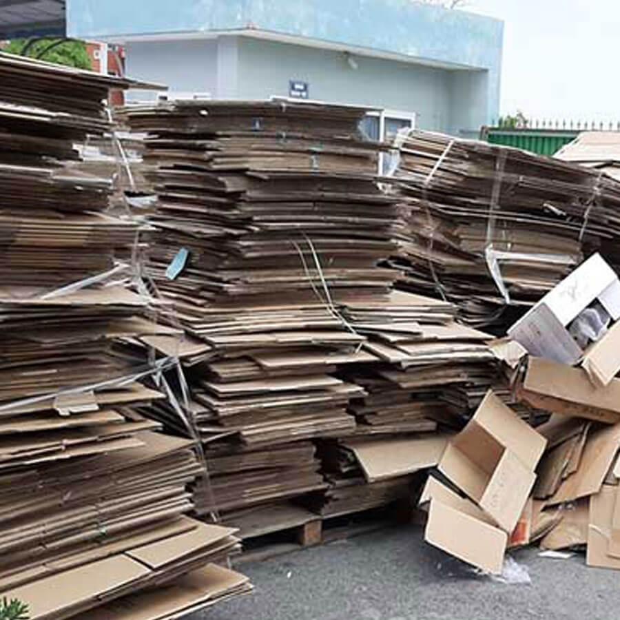Giá phế liệu giấy Carton trên thị trường