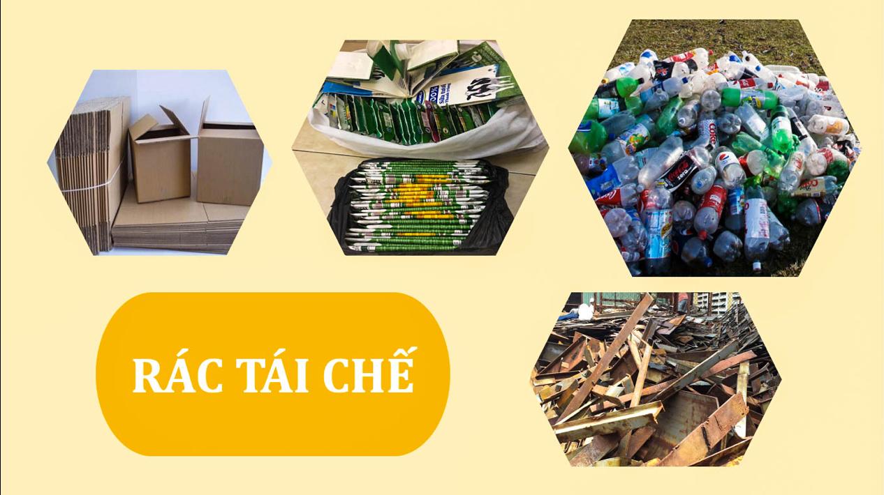 Rác tái chế là gì?