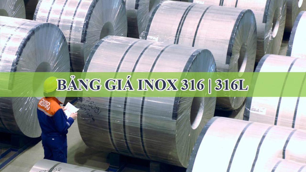 Inox 316L là gì? Có khác gì với inox 316 không?