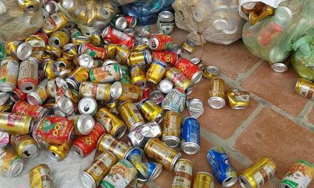 Đơn vị thu mua vỏ lon bia tận nhà giá cao trên toàn quốc