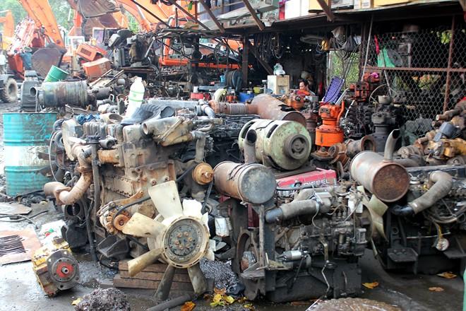 Vì sao có các bãi phế liệu xe máy tphcm?