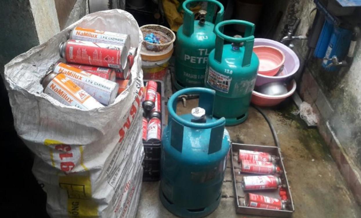 Các loại bình gas phổ biến hiện nay