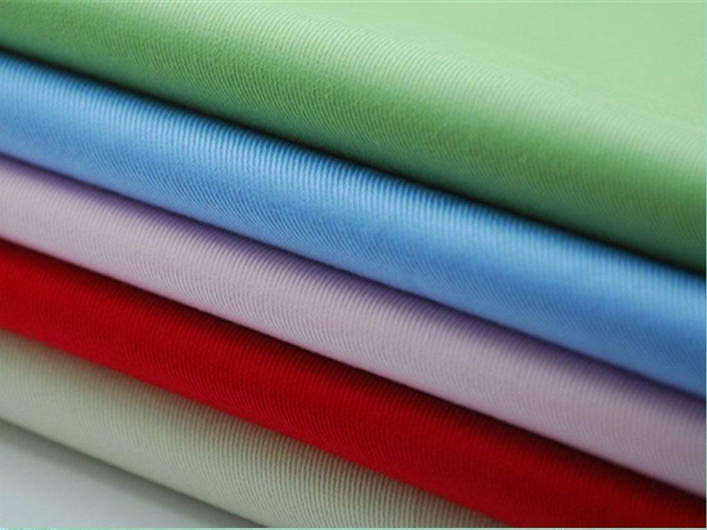 Vải CVC và vải TC hoặc vải 65/35