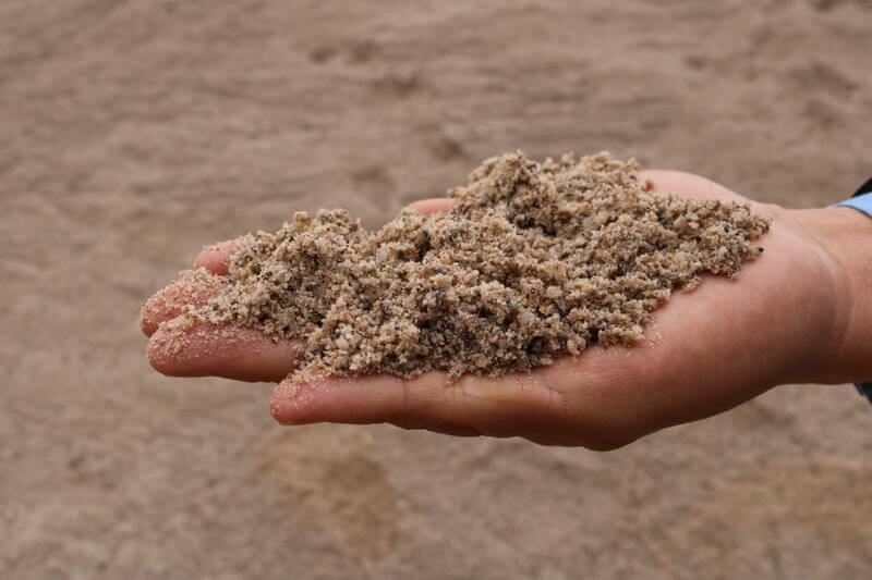 Cát xây dựng – Cách phân biệt cát xây và cát bê tông