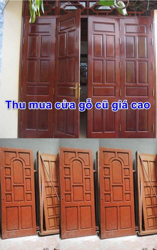 Thu mua cửa gỗ